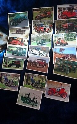 Cars That Made Australia Cards Issued By Weet-Bix Circa 1992