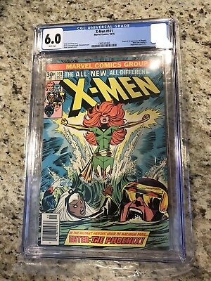 X-Men #101 (Oct 1976, Marvel) CGC 6.0 White Pages First Appearance Phoenix