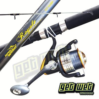 Jarvis Walker Royale Surf Rod Combo 12ft 2 Peice