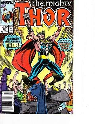 Thor #384 New Era of Thor! Newstand Edition FREE SHIPPING AVAILABLE!