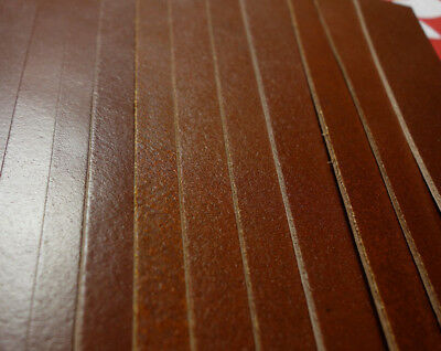 "HORWEEN COPPER TAN FLESH FINISH 5 OZ. LEATHER STRAP, 32"" x 2"",  1ST. QLTY"