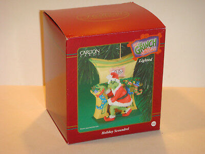 Ornament Carlton Cards Grinch Holiday Scoundrel