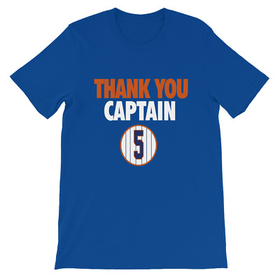 David Wright THANK YOU CAPTAIN METS JERSEY TEE Retired Number 5 T-Shirt