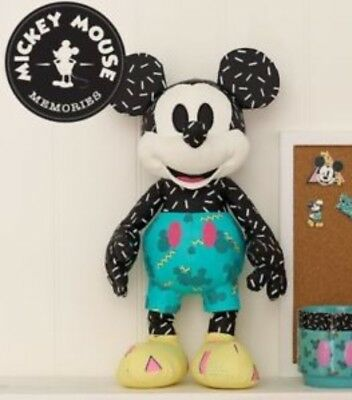 UK Disney Store SEPTEMBER Mickey Mouse Memories Plush Cuddly Soft Toy