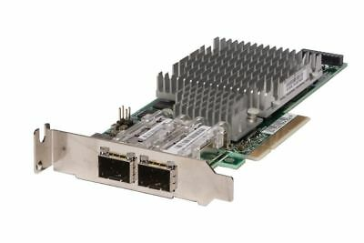 HP NC522SFP 10 Gigabit 10GBe SFP+ Dual Port Server Adapter 468349-001 Low Profil