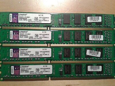 2GB Kingston KVR1333D3S8N9/2G, PC3-10600 (DDR3-1333), DDR3 SDRAM, Low Profile