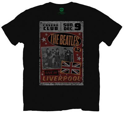 The Beatles 'Live In Liverpool' T-Shirt - NEW & OFFICIAL!