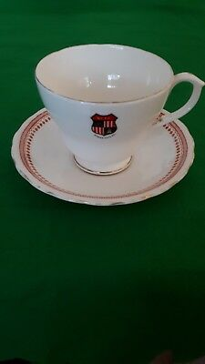 Stoke city football memorabilia China cup and saucer