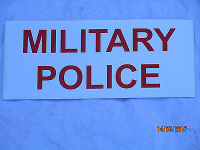 MILITARY POLICE,Royal Military Police, British Army,Sticker, 100x230mm