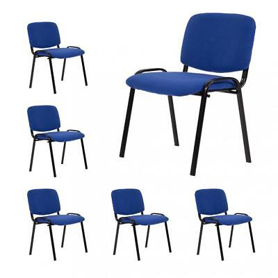 Guest Chair Reception Chairs Conference Chairs,Stack Meeting Side Chair Set Of 6