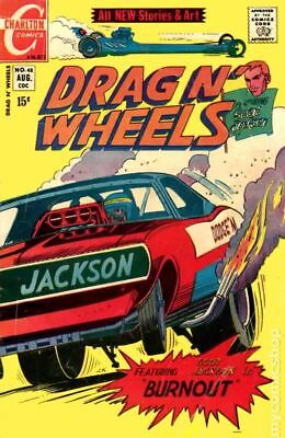 Drag N Wheels #48 1971 VG- 3.5 Stock Image Low Grade