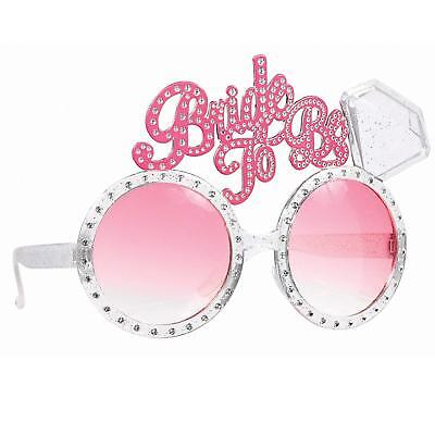 Bride To Be Glasses Hen Do Night Party Accessories Bachelorette *Free* Pp