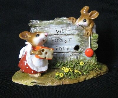Wee Forest Folk Scamper Display piece Mint Condition with Box