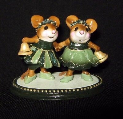 Wee Forest Folk M-304 Christmas Belles Limited Edition 2007 Mint