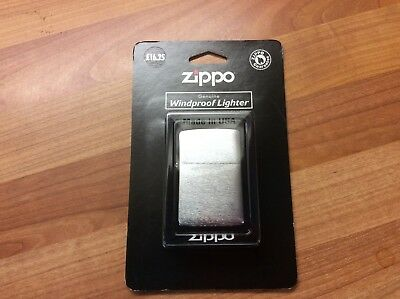 Bnwt Boxed Zippo Genuine Windproor Silver Lighter