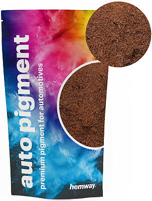 Hemway Automotive Powder Pigment Metallic Bronze for Pearl Auto Paint 100g
