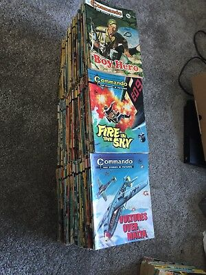 150 Commando Comics 400's + And Some Others Dandy Beano Football