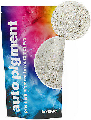 Hemway Automotive Powder Pigment Metallic Chalk White for Pearl Auto Paint 100g