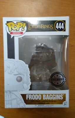 FUNKO POP The Lord Of The Rings  Frodo Baggins Exclusive #444