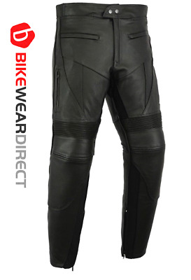 CE Armoured Motorcycle Motorbike Biker Leather Cruising Jeans Trousers Pants