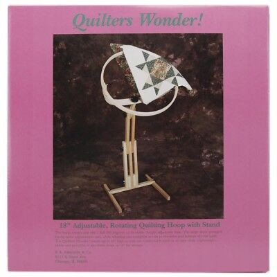 F.a. Edmunds Quilters Wonder Adjustable Quilting Hoop Frame With Stand - Floor