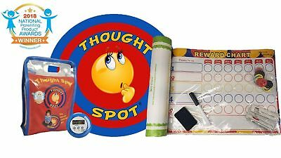 Thought Spot - Reward Chart & The Portable Parenting Time Out Mat with Digita...