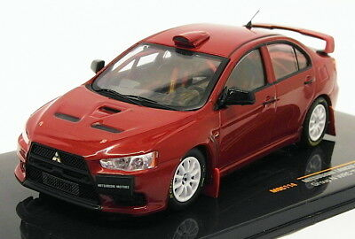 Ixo 1/43 Scale MOC114   2007 Mitsubishi Lancer Evo X   Rally Edition