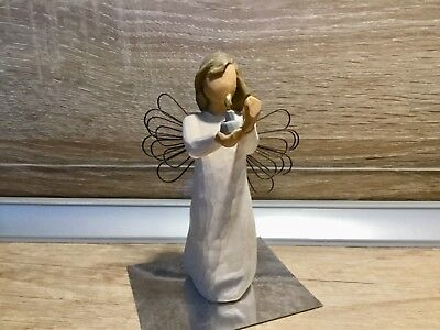 """Willow Tree by Susan Lordi  """"Angel of Hope"""" 13 cm, aus 2009, unversehrt"""
