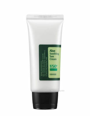 [COSRX] Aloe Soothing Sun Cream SPF50 PA+++ 50ml UVA UVB Sun Block, Korea-Beauty