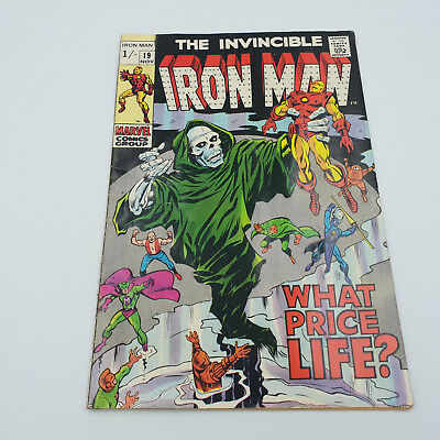 Iron Man #19 Silver Age Marvel Comics Archie Goodwin F+