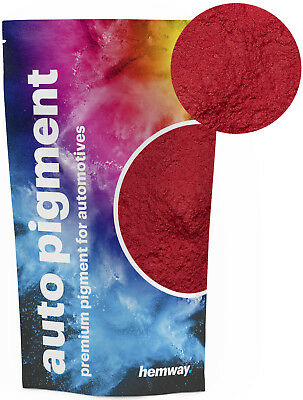 Hemway Automotive Powder Pigment Metallic Red Pearl Auto Paint 100g