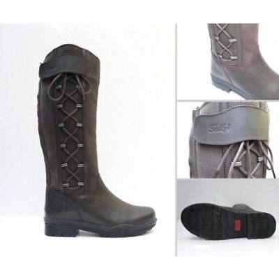 Gateley Country Leather Boot Std & Wide Fit UK4-UK10 Very Popular!