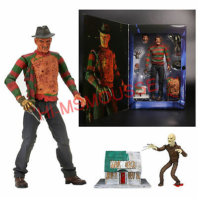 "NECA Nightmare on Elm Street Freddy Ultimate Dream Warriors 7"" Action Figure New"
