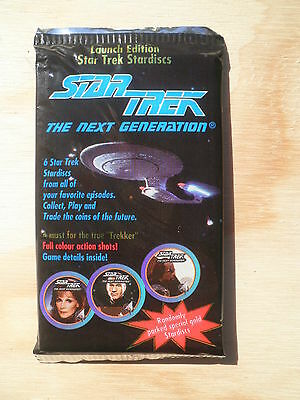 1994 Star Trek Stardiscs The Next Generation unopened pack Trading cards STNG