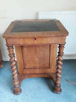 Antique Oak children's drawing desk