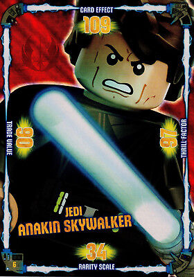 LEGO Star Wars Trading Card Collection XXL Sonderkarte Jedi Anakin Skywalker #6