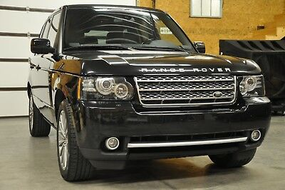 2012 Land Rover Range Rover GRAND BLACK LACQUER FINISH TRIM 2012 land Rover Range Rover Supercharged Silver Package!