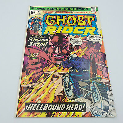 Ghost Rider #9 Bronze Age Marvel Comics Gil Kane (cover) F/VF