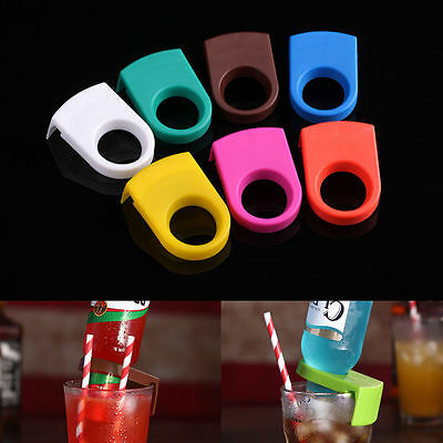 1Pc Beer Bottle Holder Clips Cocktail Glass Cups Goblet Clip Bar Club Supplies