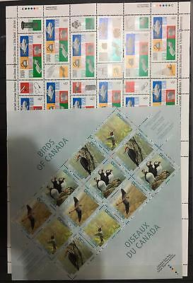 Canada.modern Thematic Mint Nh Lot. 46.37 Can $ . Face Value For Postage.