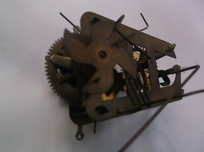 Small Mechanism From An Old Cuckoo Clock   Ref Cuk 7 Working Order