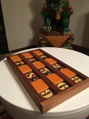 Vintage Tested Bakelite Pattberg Novelty NY Art Deco Number Game? Mid-Century