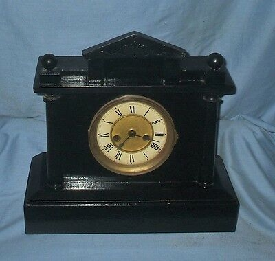 *Antique German Striking Clock* by P. H&S  C1890 - Working