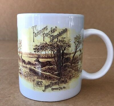 JOHN DEERE Mug Cup By Gibson Licensed Product 10 Oz Farmers Pocket Companion