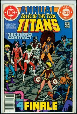 DC Comics Tales Of The TEEN TITANS Annual #3 2nd Nightwing FN/VFN 7.0
