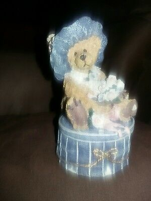 Boyds Bears & Friends – Victoria the Lady – Style #2004 – 1993 Trinket Box Style