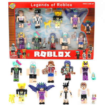 9PC/set Legends of Roblox Figures PVC Game Roblox Toy Mini Kids Gift 6-8cm boxed