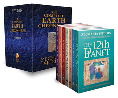 Zecharia Sitchin The Complete Earth Chronicles 7 Books Collection Set Pack