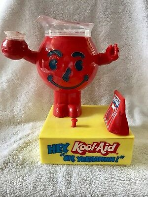 VINTAGE KOOL-AID Man BANK Classic Drink Mix Figure Animated Coin Bank