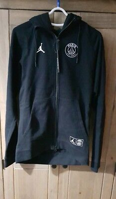 Psg Nike Jordan Paris Saint-Germain Wings Hoodie Hoody Jacket Bq4195-010